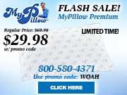 My Pillow Premium Flash Sale!